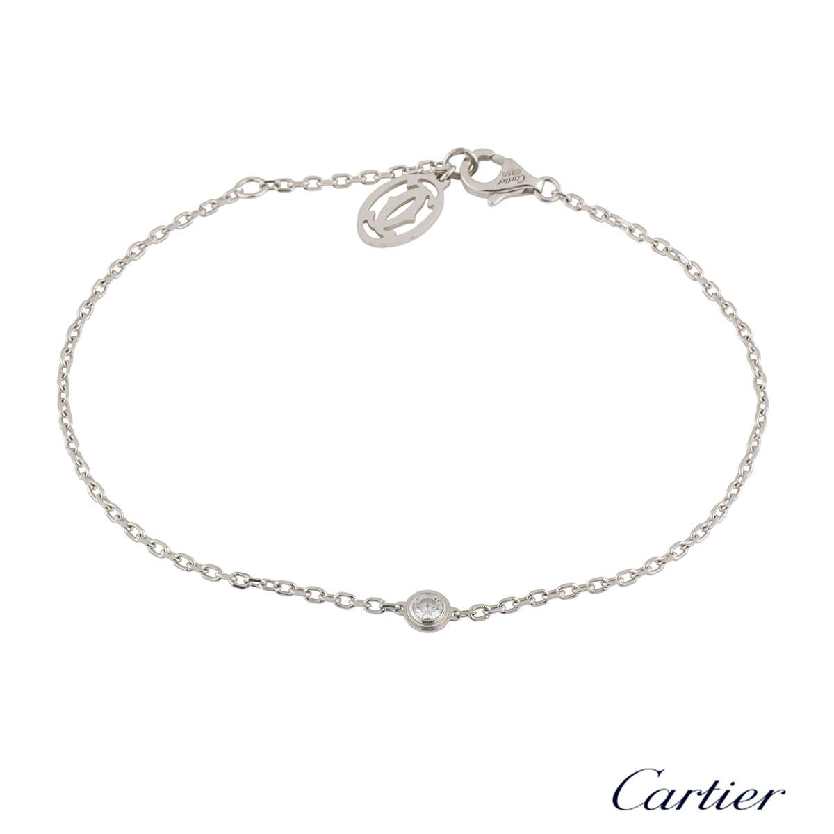 Cartier Diamants Legers Diamond Bracelet 0.09ct G/VS